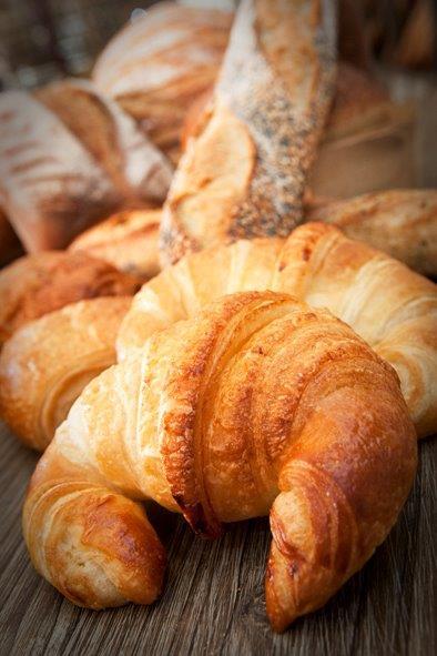 Croissants de la boulangerie Arom